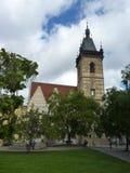 República Checa, Praga - a câmara municipal nova imagem de stock