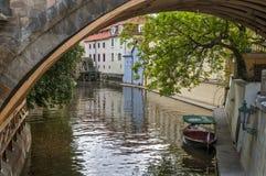 República Checa, Praga Isla de Kampa Imágenes de archivo libres de regalías