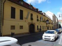 República Checa, Praga - o bar histórico fotos de stock