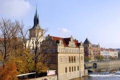República Checa, Praga: opinión de la ciudad Imagen de archivo