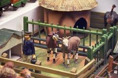 República checa Toy Museum em Praga 13 de junho de 2016 foto de stock royalty free