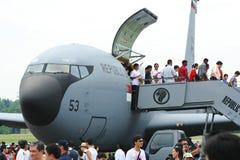 República de la casa abierta 2011 de la fuerza aérea de Singapur fotos de archivo libres de regalías