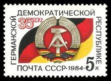 República Democrática da Alemanha Imagem de Stock