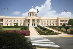República Dominicana do palácio Foto de Stock