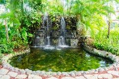 República Dominicana - fonte em um parque Fotografia de Stock Royalty Free