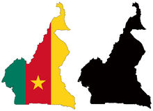 República dos Camarões Ilustração Stock