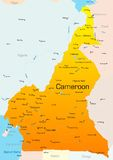 República dos Camarões Fotos de Stock Royalty Free