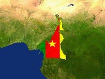 República dos Camarões Imagens de Stock