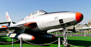 República F-84 Thunderjet Imagens de Stock Royalty Free