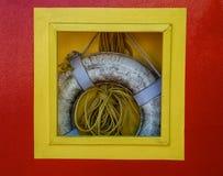 rep för preserver för livstid för askdock hängande Royaltyfri Fotografi
