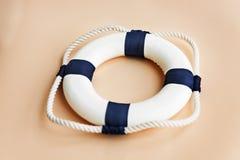 Rep Ring Safe Concept för räddningsaktion för Bouy flytandehjälp Royaltyfri Bild