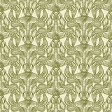 Repaint seamless pattern. Beige background Stock Illustration