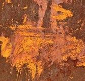 Repainted rust Royalty Free Stock Image