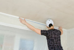 Repair of apartments Stock Photography