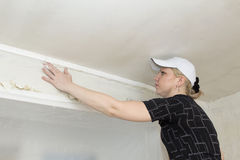 Repair of apartments Royalty Free Stock Images