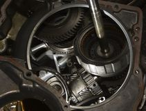 Repair automatic gearbox Stock Photo