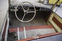 Broken and damaged car Stock Image