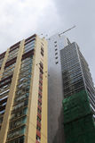Repair building at hong kong Stock Photography