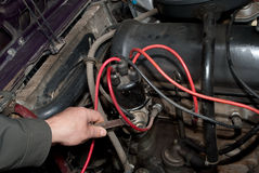 Repair of car Stock Photos