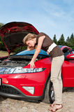 Repair the car Stock Photography
