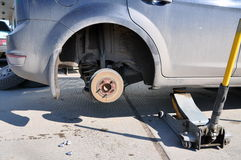Repair  car Stock Photography