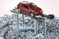 Repair of car Royalty Free Stock Photography