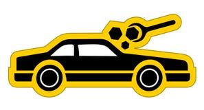 Repair car symbol. Creative design of repair car symbol Stock Photos