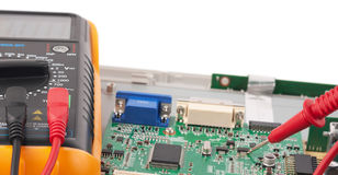 Repair circuit board Royalty Free Stock Photo