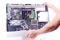 Repair computer Royalty Free Stock Photo