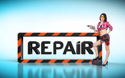Repair concept Stock Photography