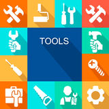 Repair and construction working tools icon Stock Photo