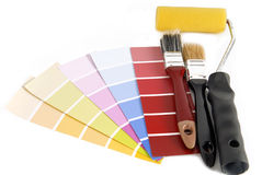 Repair and decoration planning Stock Photos