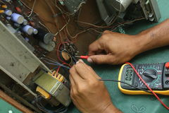 Repair and Diagnostic. Repair and diagnostic electronic device stock images