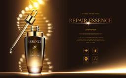 Repair essence ads Stock Photo