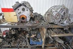 A repair garage Royalty Free Stock Photo