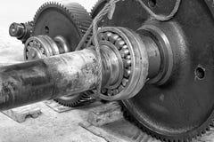 Repair gear. Royalty Free Stock Image