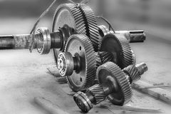 Repair gear. Stock Image
