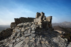 Repair of the great wall Royalty Free Stock Photography