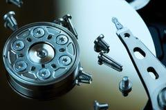 Repair hard disk. Close up Royalty Free Stock Photography