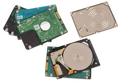Repair of  hard drives concept Stock Image