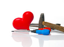 Repair of the heart Stock Photos