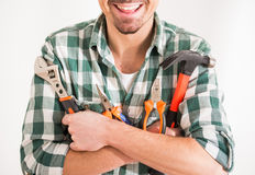 Repair home Stock Image