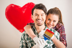 Repair home Stock Images