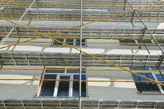 Repair home scaffolding Royalty Free Stock Photo