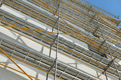 Repair home scaffolding Royalty Free Stock Photography