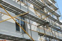 Repair home scaffolding Stock Photos