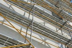 Repair home scaffolding Royalty Free Stock Photos