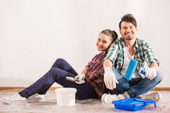 Repair home Royalty Free Stock Photos