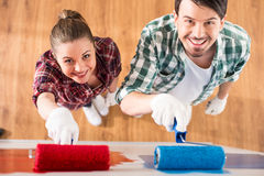 Repair home Royalty Free Stock Photo