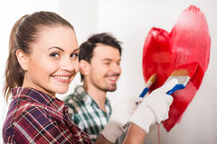 Repair home Royalty Free Stock Images